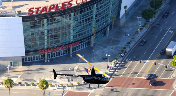 dtla helicopter tour